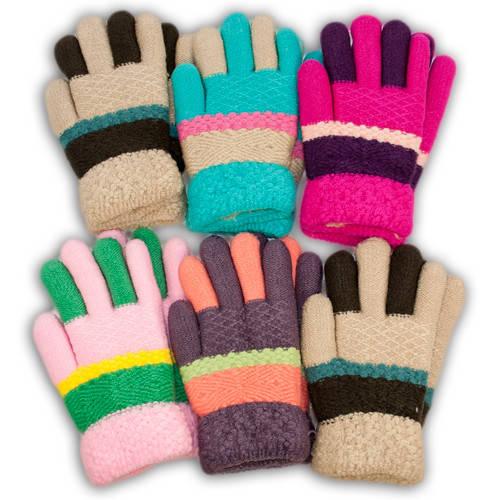 Детские перчатки утепленные, B14D