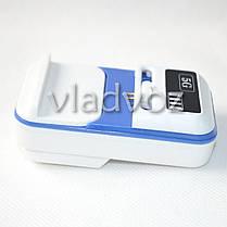 Универсальное зарядное для аккумуляторов с USB с индикацией заряда, фото 2
