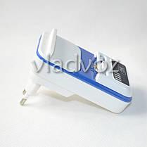 Универсальное зарядное для аккумуляторов с USB с индикацией заряда, фото 3