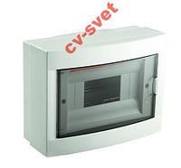 Распределительный щиток Viko (Бокс Box) 8 модулей наружный