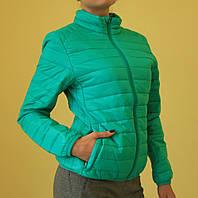 Куртка женская демисезонная Remain 7031-1 бирюзовая код 885А
