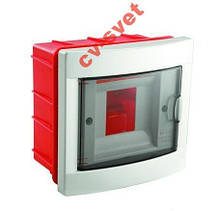 Розподільний щиток Viko (Бокс Box)на 4 модулі прихованої установки