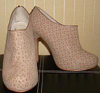 Туфли женские Ботильоны Faith. Размер 39.