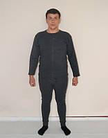 Комплект термобілизни чоловічий, українського  виробництва (сірий), фото 1