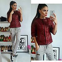Куртка женская, модель 201, бордовый
