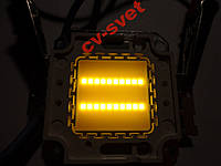 Мощный и толстый Светодиод 20 ватт матрица 20w прожектор 20w LED 20w 45х45 mil