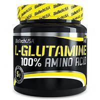 BioTech USA 100 % L-Glutamine 500g