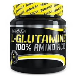 BioTech USA 100 % L-Glutamine 240g