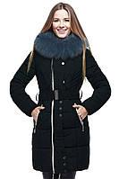 Женская куртка с карманами на молнии