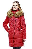 Женское пальто необычного фасона