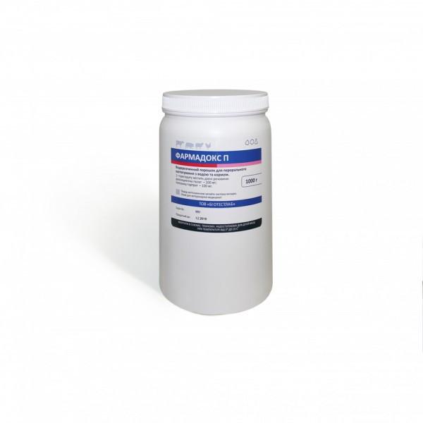 Фармадокс  П (тилозин 100 мг доксициклин 100 мг) 1 л комбинированный ветеринарный антибиотик для птицы