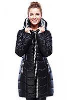 Молодежная курточка черного цвета, фото 1
