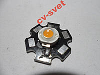 Фито Светодиод 1W для растений УСКИ LED 400-840nm