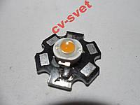 Фито Светодиод 3W для растений УСКИ LED 400-840nm