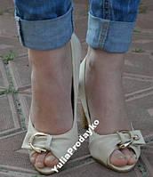 Туфли женские эко-кожа остатки 37,39р