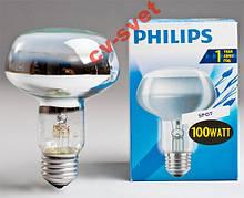 Лампа рефлекторна R80 Philips 100w E27