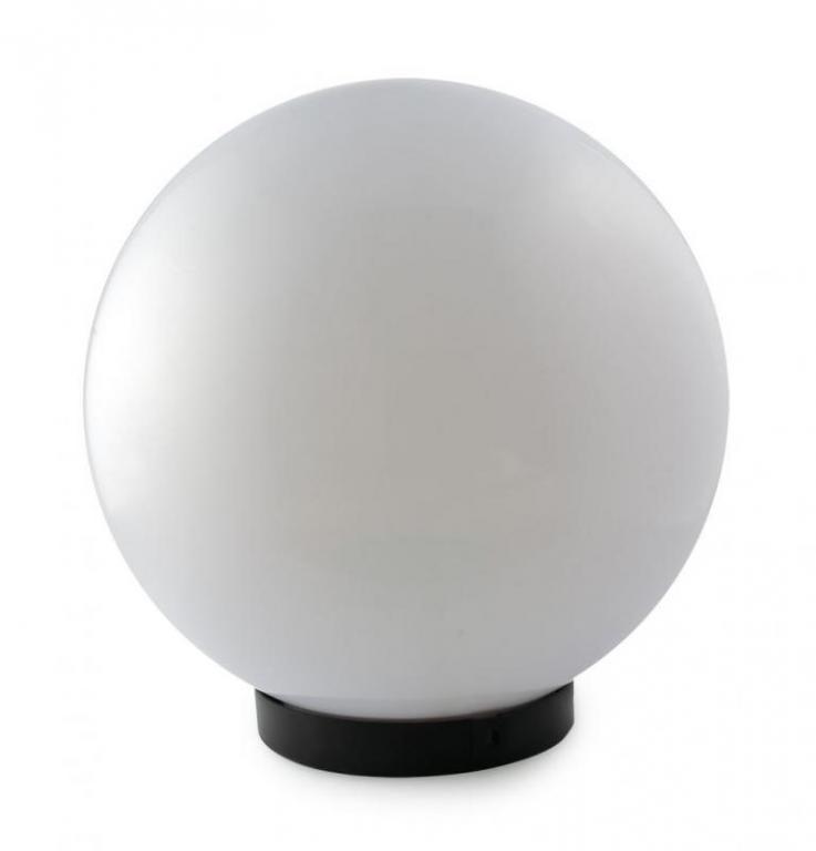 Светильник Шар d-350 садово-парковый белый матовый