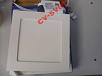 Светодиодная LED панель 12W ABS 900LM LM474 квадрат, фото 1