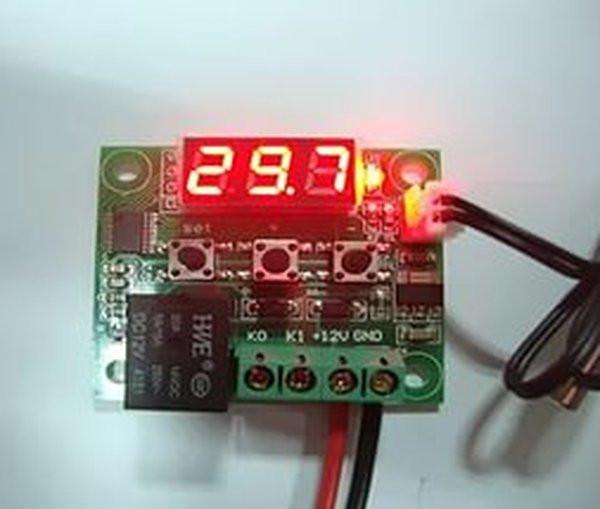 Цифровой Термостат W1209 + датчик термореле терморегулятор термометр Arduino