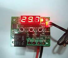 Цифровий Термостат W1209 + датчик термореле терморегулятор термометр Arduino