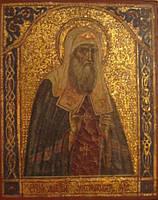 Икона Св.Алексий (Алексей) митроп. Московский  XIX век