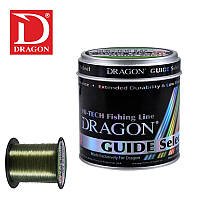 Леска DRAGON GUIDE SELECT CAMO GREEN 0.30 мм 600 м