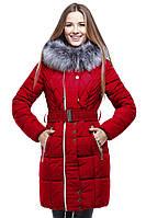 Зимнее пальто дополнено чернобуркой