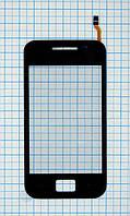 Тачскрин сенсорное стекло для Samsung S5830i Galaxy Ace rev.1.0. black