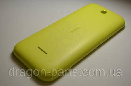 Задня кришка Nokia 225 жовта оригінал , 9448779, фото 2