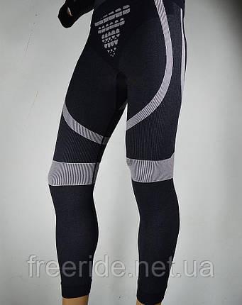 Спортивные термо штаны (L) 48 -50 с элементами компрессии, фото 2