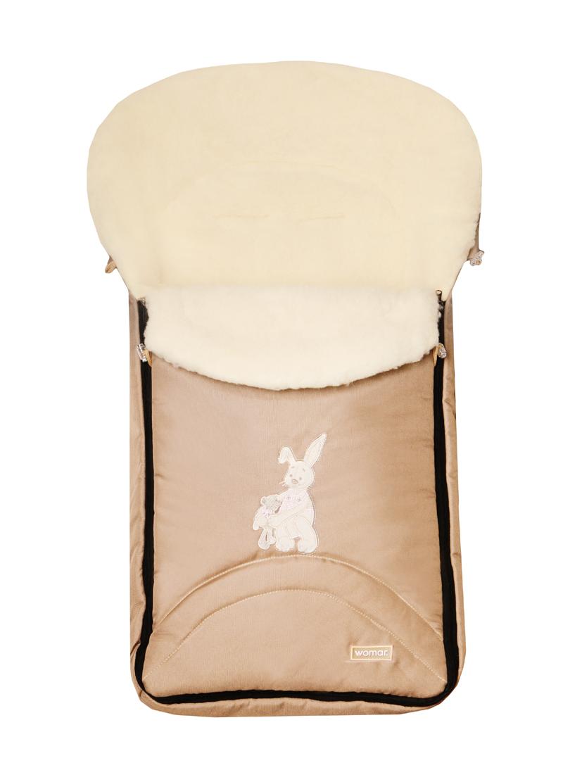Спальный мешок-конверт на овчине Early Spring № 8 Excluzive, Womar