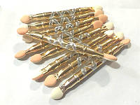 Аппликаторы для теней метал. ручка 10 шт