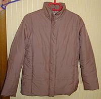 Куртка женская демисезонная бежевая плащевка (размер 48, M, UK14, EU42)