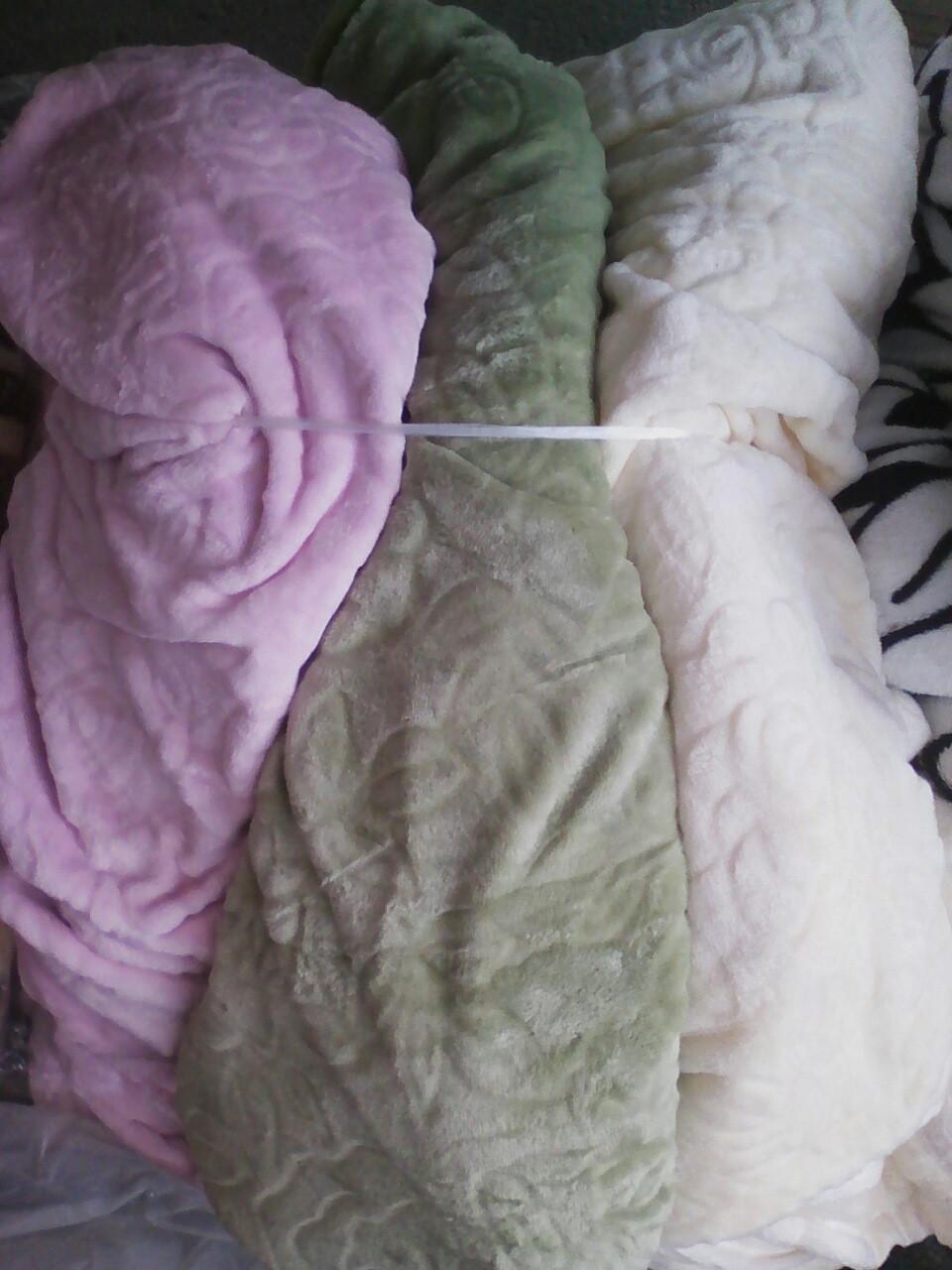 Покрывало на кровать велюр