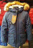 Куртка зимняя на мальчика EGRET Шериф