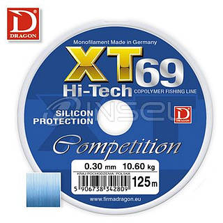 Леска DRAGON XT69 HI-TECH COMPETI. 0,28 мм 125 м(5)*