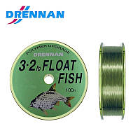 Леска DRENNAN FLOAT FISH 0.14  мм 100 м