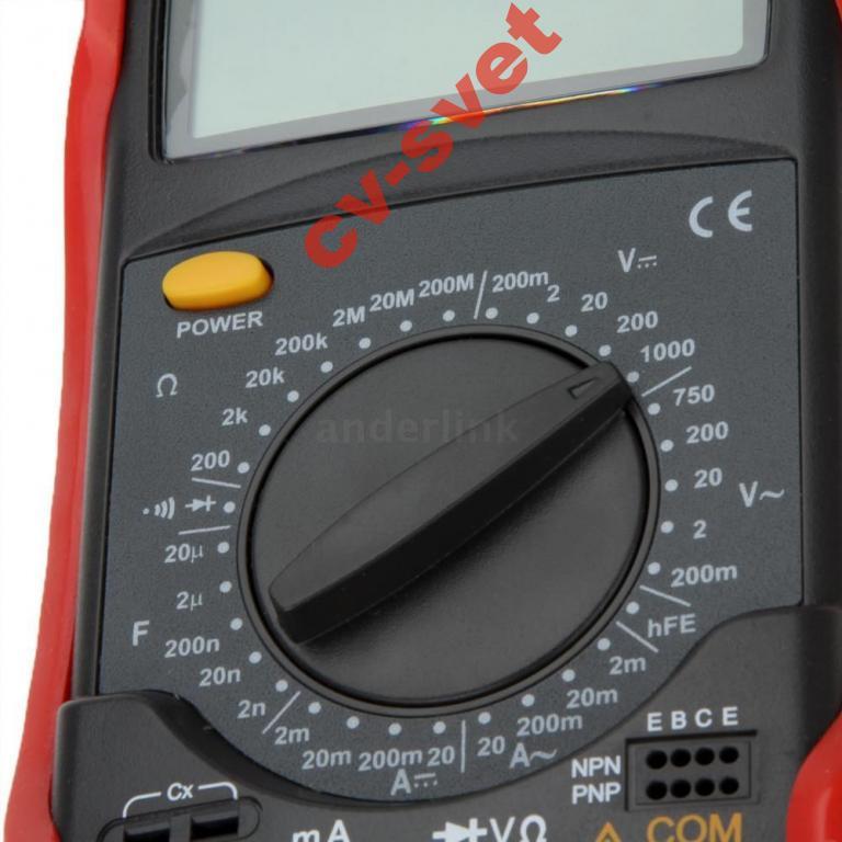 Цифровой мультиметр UNI-T UT52