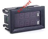 Цифровий амперметр вольтметр DC 100V 10А - 14A з шунтом №2 (покращена модель), фото 2