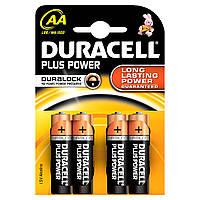 Батарейка Duracell AA пальчик r6 Alkaline уп 4 шт
