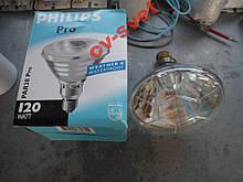 Лампа-Прожектор теплова Philips PAR38 120W икзк