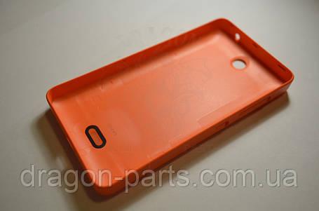 Задняя крышка  Microsoft Lumia 430 оранжевая оригинал , 8003542, фото 2