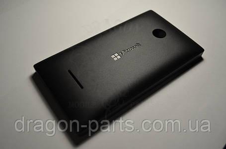 Задняя крышка  Microsoft Lumia 435 черная оригинал , 02508T6, фото 2