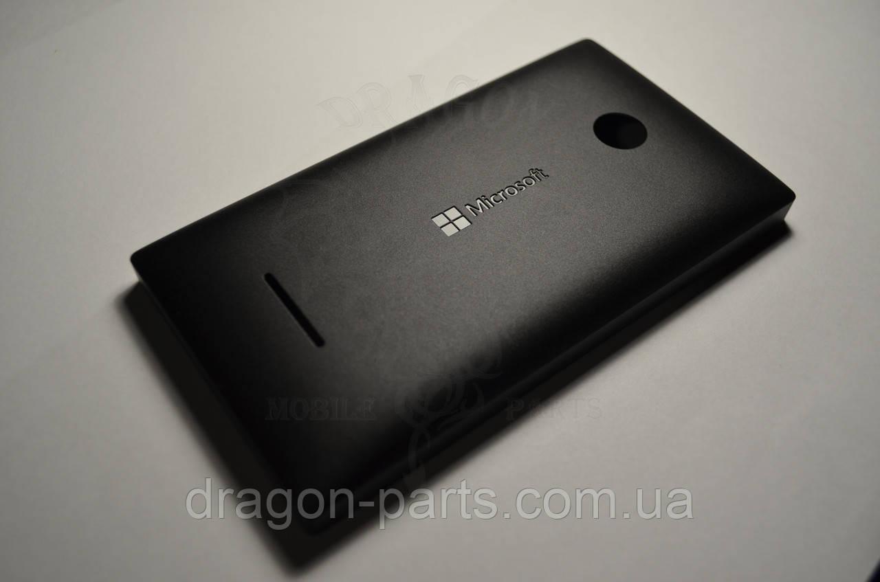 Задняя крышка  Microsoft Lumia 435 черная оригинал , 02508T6