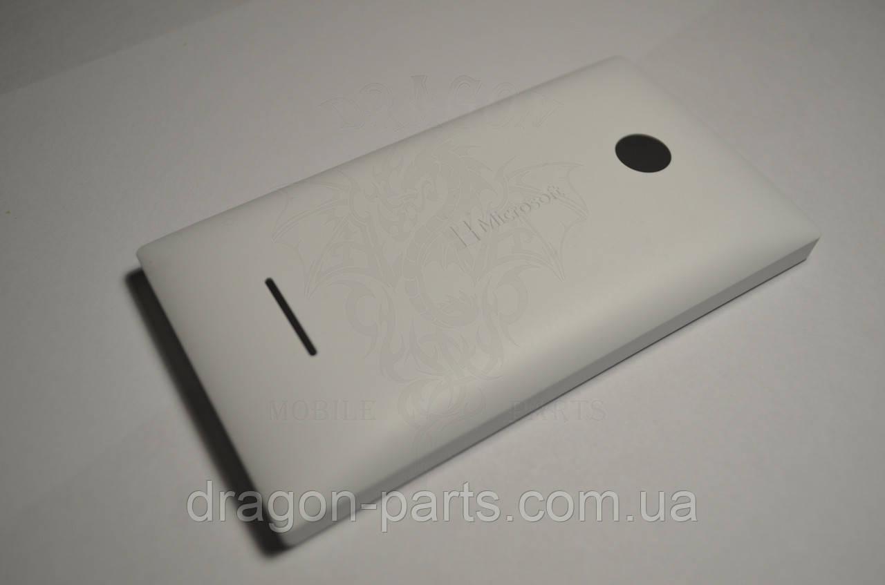 Задняя крышка  Microsoft Lumia 435 белая оригинал , 02508T7