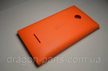 Задняя крышка  Microsoft Lumia 435 оранжевая оригинал , 02508V0, фото 2