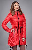 Женская  куртка  утепленная на силиконизированном синтепоне