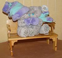 Игрушка мягкая Мишка Teddy Влюблённая парочка 12 см. Коллекционные