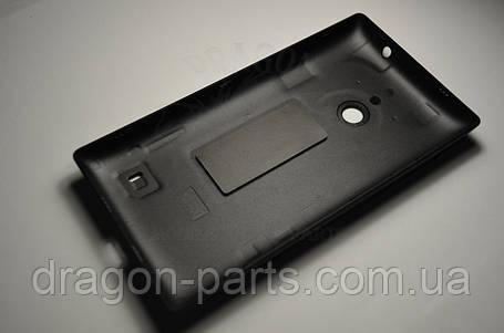 Задняя крышка  Nokia Lumia 520 черная оригинал , 02502Z6, фото 2