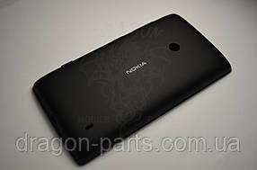 Задняя крышка  Nokia Lumia 520 черная оригинал , 02502Z6